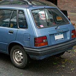 Car Keys Produced for Chevrolet Sprint