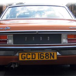 Keys for Ford Granada