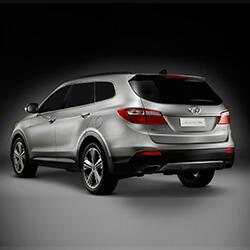 Car Keys Produced for Hyundai Santa Fe