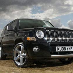 Car Keys Produced for Jeep Patriot