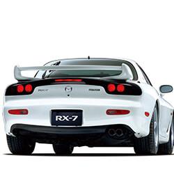Car Keys Produced for Mazda RX 7
