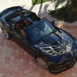 Pontiac Firebird Car Keys Produced