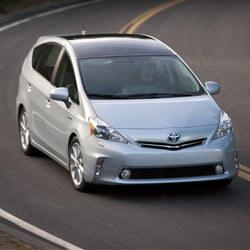 Toyota Prius V Car Keys Produced