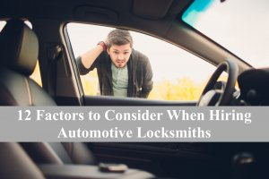 hiring automotive locksmiths